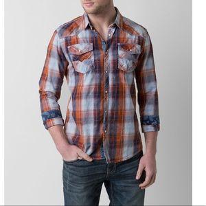 BKE Vintage Terrain Button down shirt